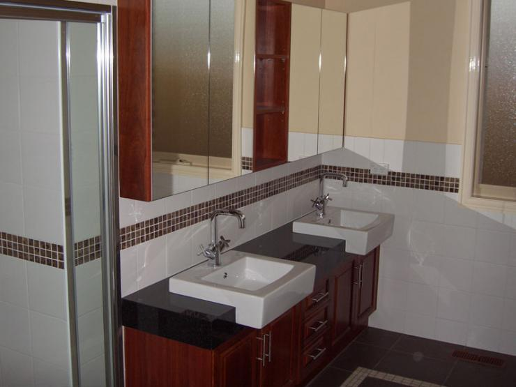Bathroom With Double Basin Joe 39 S Construction Home Design Construction Quality Builders