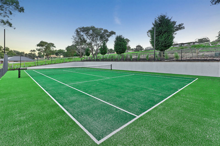 Lot 5 of Blackwood Grove Tennis Court