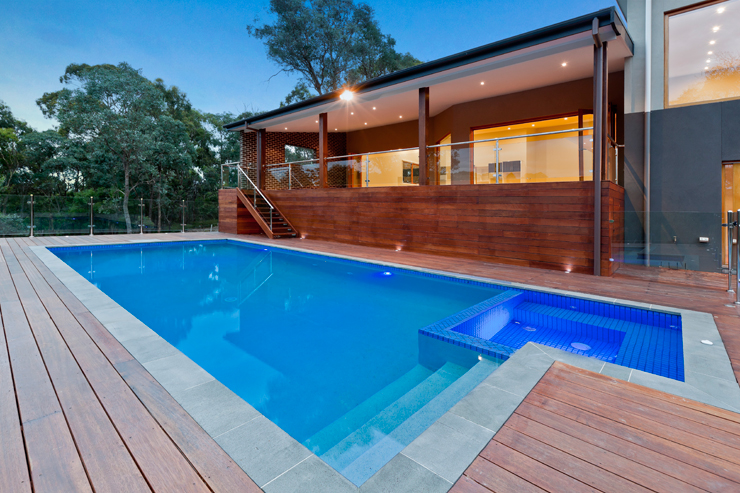 Outdoor Swimming Pool Joe 39 S Construction Home Design Construction Quality Builders